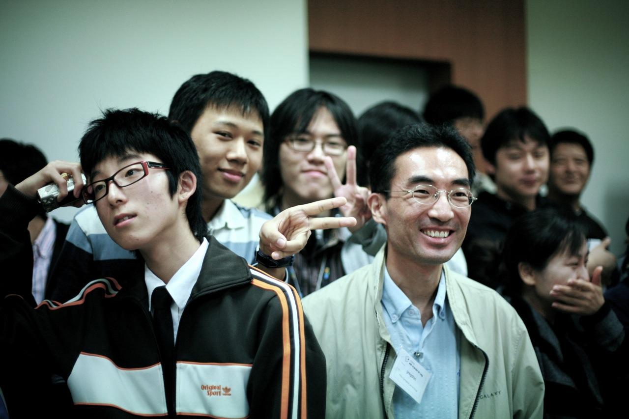 제 1회 CSS DESIGN KOREA 모임 선린고등학생들의 즐거운모습
