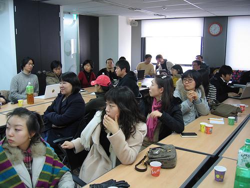 한국 웹 접근성 모임 2007년 첫 워크샵 장소(daum d&shop)